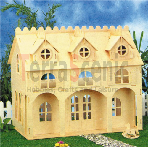 Wooden Dolls House: Dormer Cottage TL2006/3